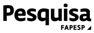 Logo da revista Pesquisa FAPESP (Fundação de Amparo à Pesquisa do Estado de São Paulo)