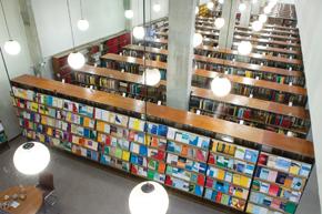 Biblioteca do Impa: 60 mil volumes para 48 professores, 154 alunos de mestrado e doutorado e 60 pós-doutorandos