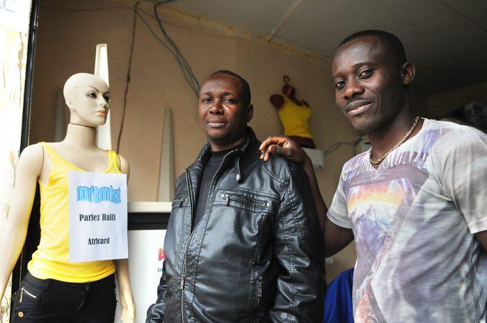 Muitos dos haitianos que chegam ao Brasil se estabelecem na região do Glicério. Alguns se tornam comerciantes
