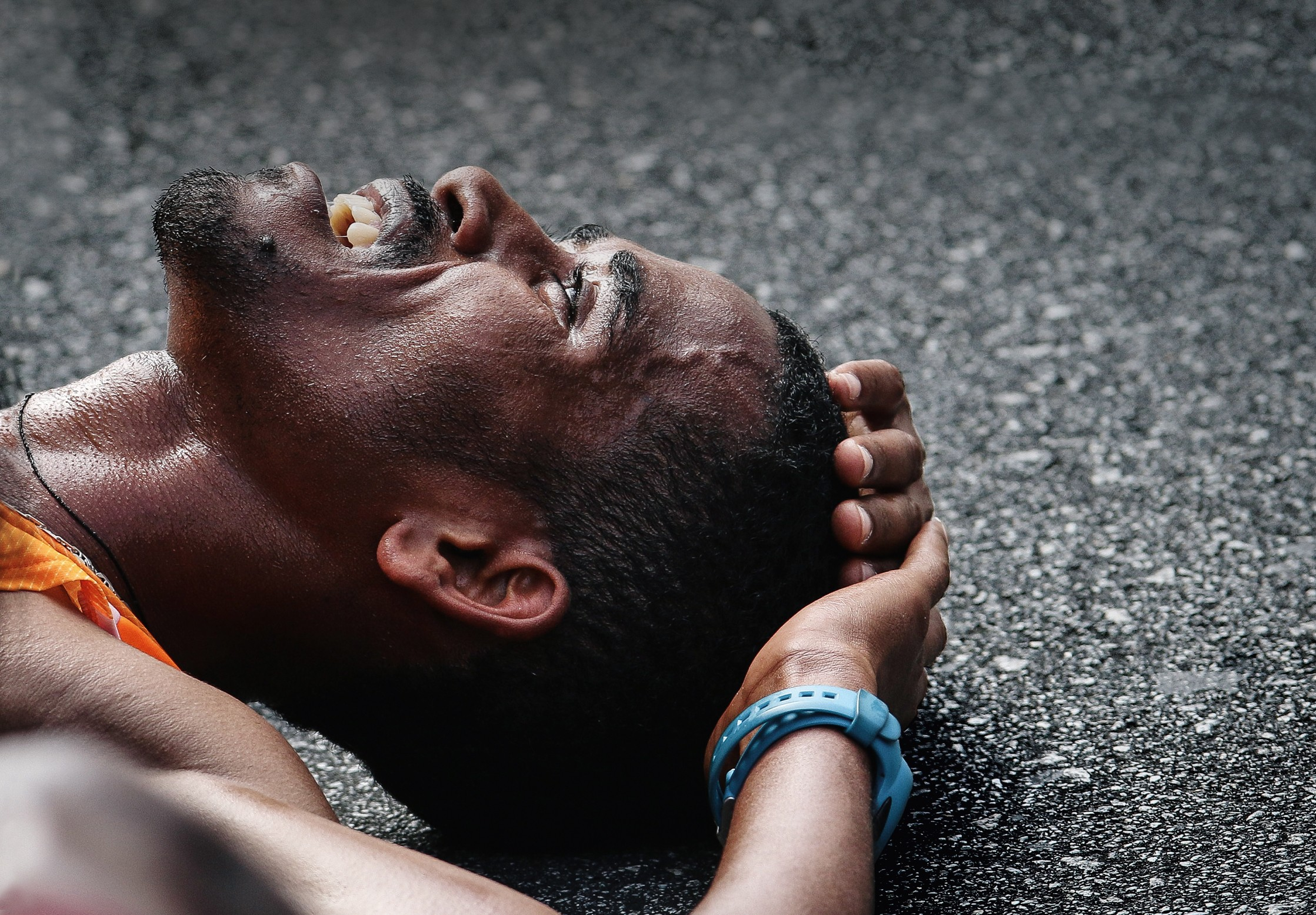 Etíope Dawit Fikadu Admasu, vencedor da corrida de São Silvestre em 2014: alterações em certos genes de africanos favoreceriam performance em provas de resistência