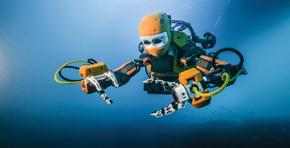 OceanOne: traços humanos, câmeras nos olhos e sensores nas mãos para alcançar lugares perigosos para mergulhadores