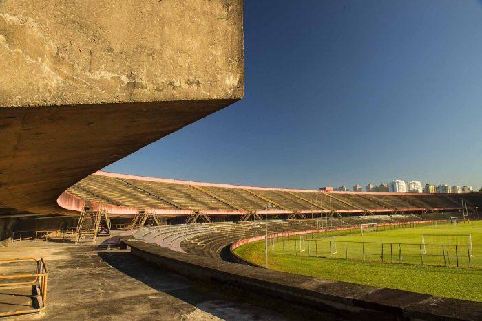 Estádio de futebol foi um dos equipamentos tombados dentro do Cepeusp, que não teve todas as suas instalações reconhecidas como patrimônio modernista da cidade