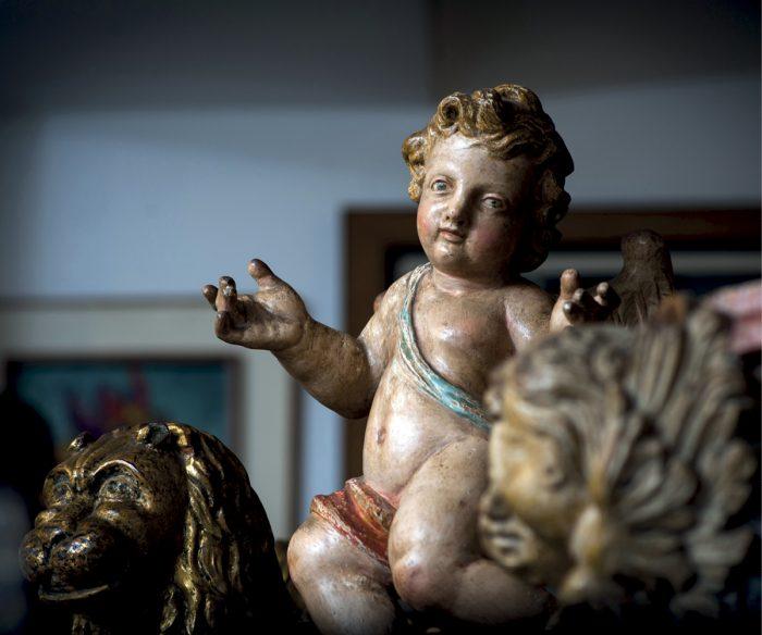 Ángel barroco portugués