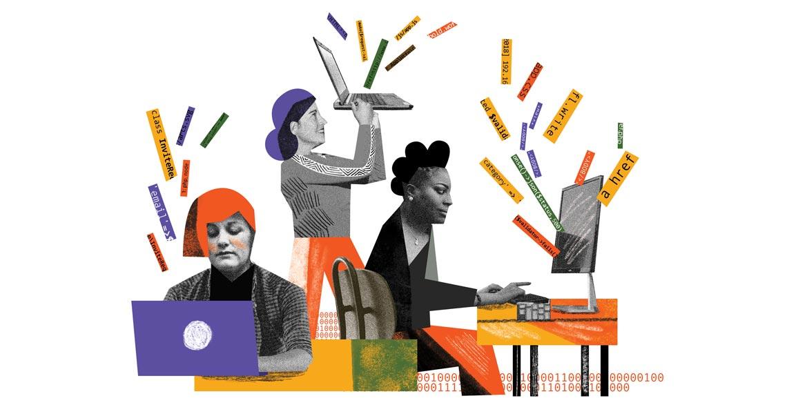 A retomada do espaço da mulher na computação : Revista Pesquisa Fapesp