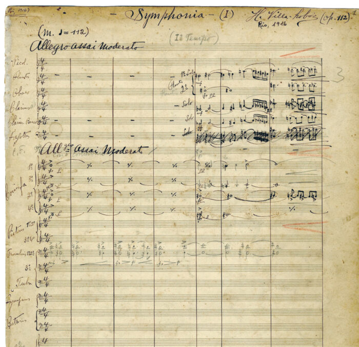 Las partituras de las sinfonías contenían errores que perjudicaban su ejecución