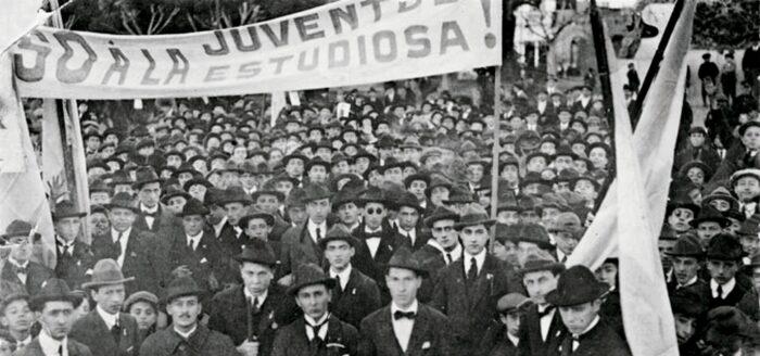 Marcha por las reformas en Córdoba: contra el modelo académico autocrático y clerical