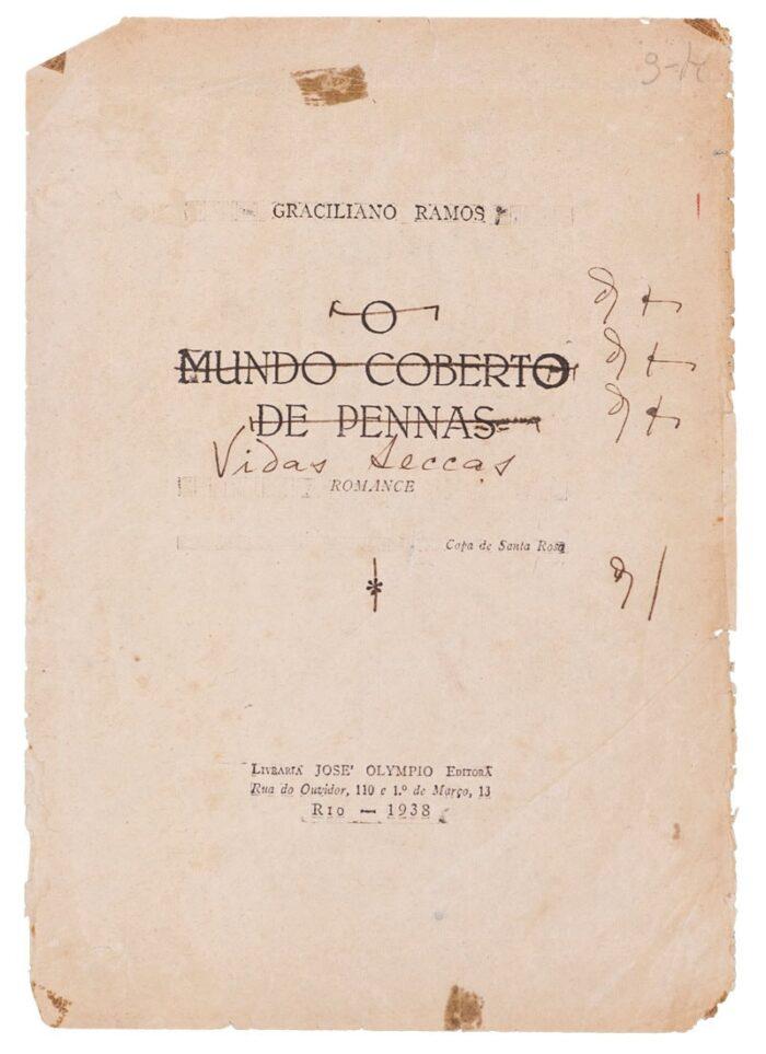 El autor modificó el título de la novela después de ver las pruebas de impresión