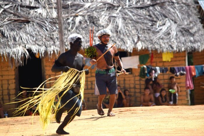 Festa Yanomami na aldeia de Maturacá