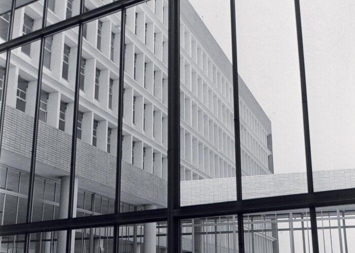 Facultad Nacional de Arquitectura y Urbanismo, Ilha do Fundão, en 1960
