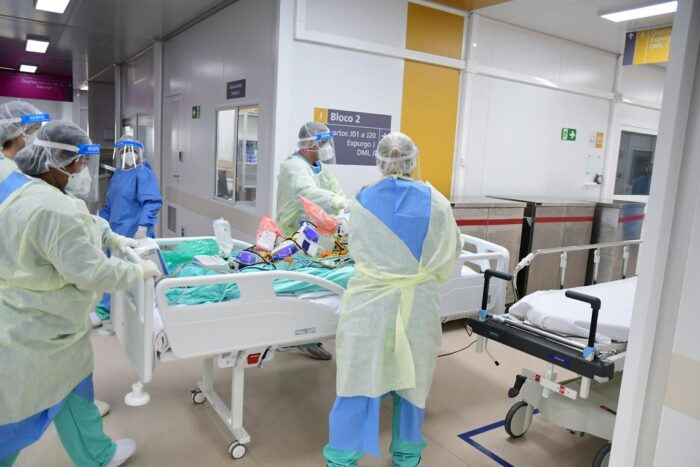 Activities at the Pandemic Hospital Center...